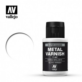 Vallejo 77657 Metal Color 750 Gloss Metal Varnish 32ml