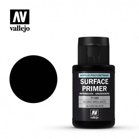 Vallejo 77660 Metal Color 660 Gloss Black Primer 32ml