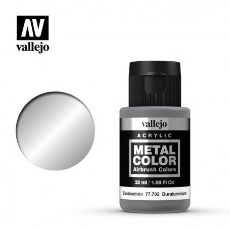 Vallejo 77702 Metal Color 702 Duraluminium 32ml