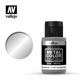 Vallejo 77704 Metal Color 704 Pale Burnt Metal 32ml