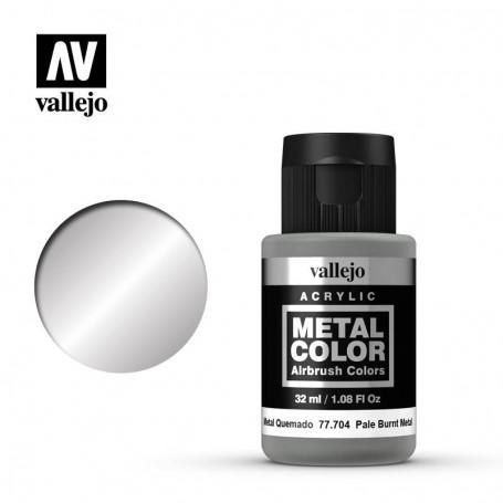 Vallejo 77704 Metal Color 704 Pale Burnt Metal 32ml