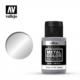 Vallejo 77707 Metal Color 707 Chrome 32ml