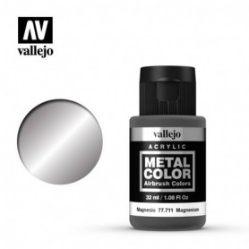 Vallejo 77711 Metal Color 711 Magnesium 32ml