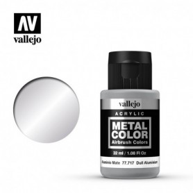 Vallejo 77717 Metal Color 717 Dull Aluminium 32ml