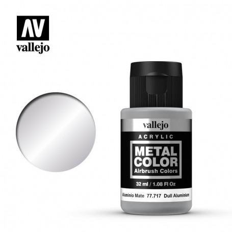 Vallejo 77717 Metal Color 717 Dull Aluminium 32ml