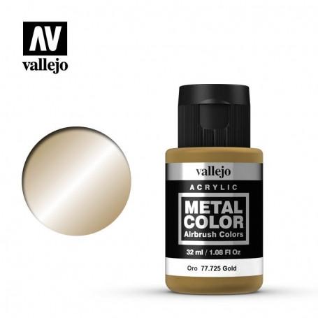 Vallejo 77725 Metal Color 725 Gold 32ml
