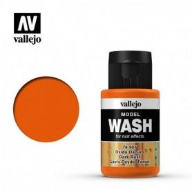 Vallejo 76507 Model Wash 507 Dark Rust 35ml