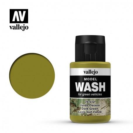 Vallejo 76512 Model Wash 512 Dark Green 35ml