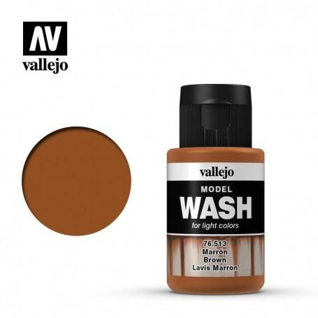 Vallejo 76513 Model Wash 513 Brown 35ml