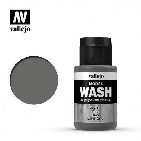 Vallejo 76516 Model Wash 516 Grey 35ml