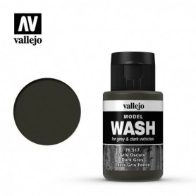 Vallejo 76517 Model Wash 517 Dark Grey 35ml
