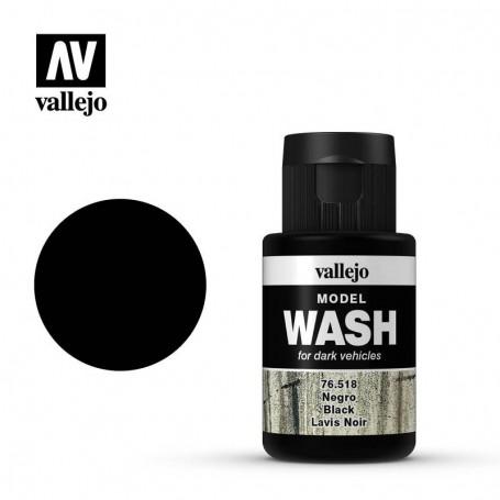 Vallejo 76518 Model Wash 518 Black 35ml