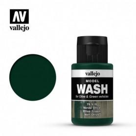 Vallejo 76519 Model Wash 519 Olive Green 35ml