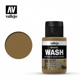 Vallejo 76520 Model Wash 520 Dark Khaki Green 35ml