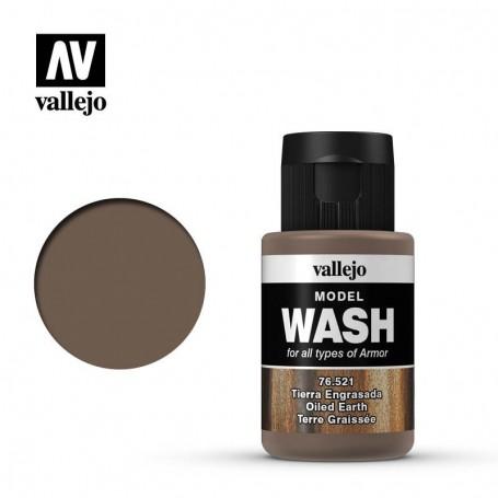 Vallejo 76521 Model Wash 521 Oiled Earth 35ml
