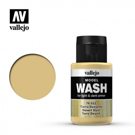 Vallejo 76522 Model Wash 522 Desert Dust 35ml