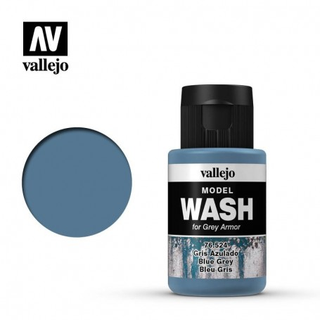 Vallejo 76524 Model Wash 524 Blue Grey 35ml