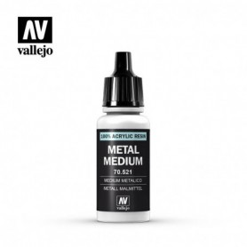 Vallejo 70521 Metal Medium 521, 17 ml