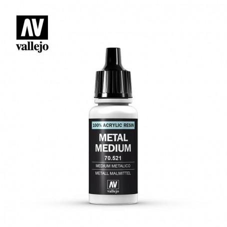 Vallejo 70521 Metal Medium 521, 17 ml