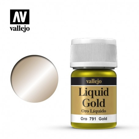 Vallejo 70791 Liquid Gold 791 'Gold' 35ml