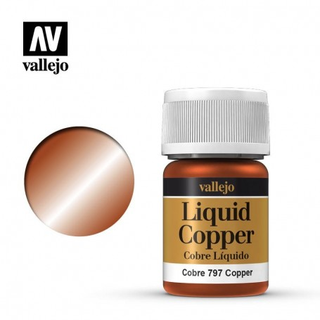Vallejo 70797 Liquid Gold 797 'Copper' 35ml