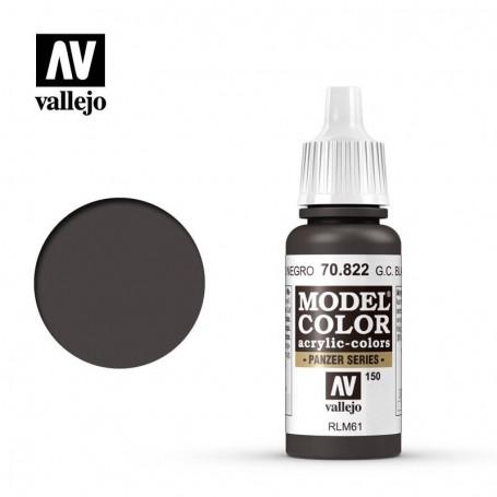 Vallejo 70822 Model Color 822 German Camouflage Black Brown (150) 17ml