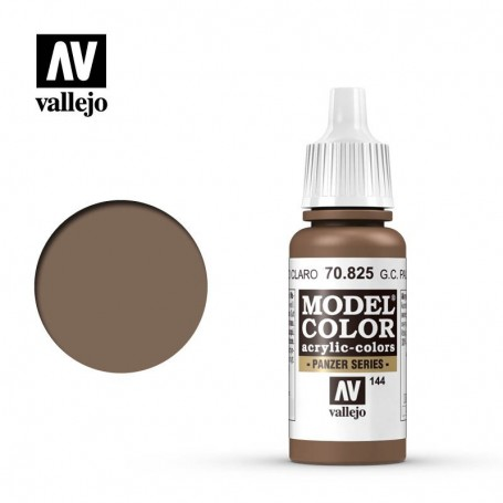 Vallejo 70825 Model Color 825 German Camouflage Pale Brown (144) 17ml