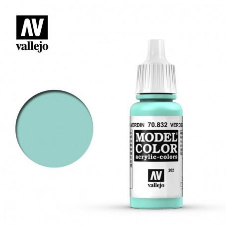 Vallejo 70832 Model Color 832 Verdigris Glaze (202) 17ml