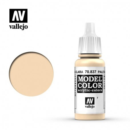 Vallejo 70837 Model Color 837 Pale Sand (007) 17ml