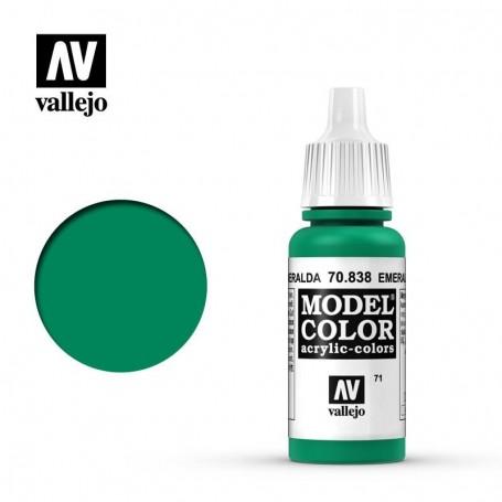 Vallejo 70838 Model Color 838 Emerald (071) 17ml