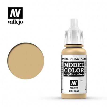 Vallejo 70847 Model Color 847 Dark Sand (123) 17ml