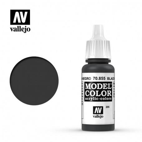 Vallejo 70855 Model Color 855 Black Glaze (205) 17ml