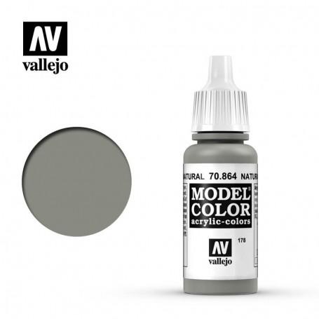 Vallejo 70864 Model Color 864 Natural Steel (178) 17ml
