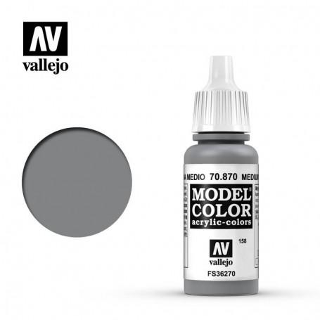 Vallejo 70870 Model Color 870 Medium Sea Grey (158) 17ml