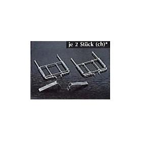 AMW 90005 Avgasutblås för MB-SK, 2 st