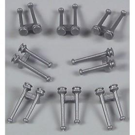 AMW 90018 Signalhorn, silver, 20 st