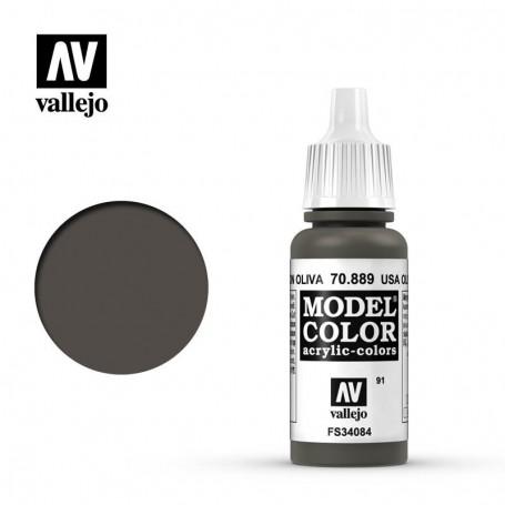 Vallejo 70889 Model Color 889 Olive Brown (091) 17ml