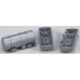 AMW 90051 Tankar, silver, 2 olika sorter, 4 st av varje