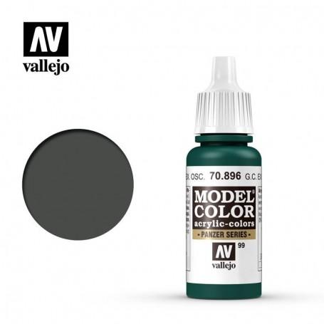 Vallejo 70896 Model Color 896 German Camouflage Extra Dark Green (099) 17ml