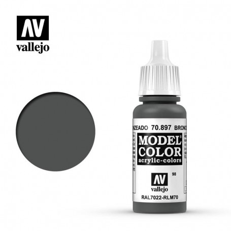 Vallejo 70897 Model Color 897 Bronze Green (098) 17ml