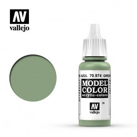 Vallejo 70974 Model Color 974 Green Sky (076) 17ml