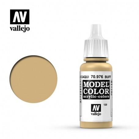 Vallejo 70976 Model Color 976 Buff (120) 17ml