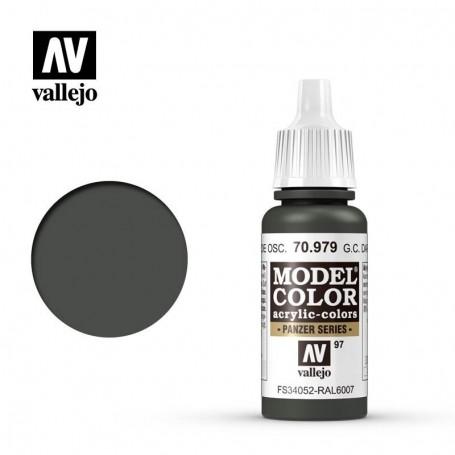 Vallejo 70979 Model Color 979 German Camouflage Dark Green (097) 17ml