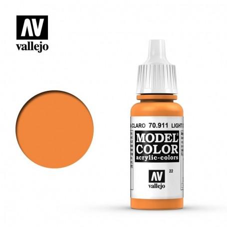 Vallejo 70911 Model Color 911 Light Orange (022) 17ml