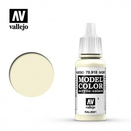 Vallejo 70918 Model Color 918 Ivory (005) 17ml