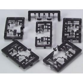 AMW 90091 Lastbils backspeglar, 6 st olika, 18 st totalt