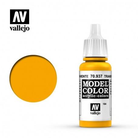 Vallejo 70937 Model Color 937 Transparent Yellow (184) 17ml