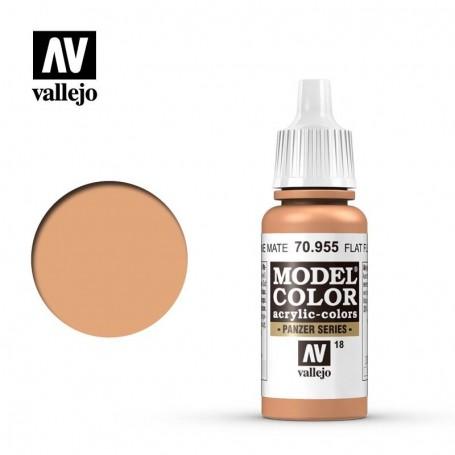 Vallejo 70955 Model Color 955 Flat Flesh (018) 17ml