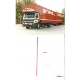 """DMC 116 Dekalark för lastbil med bil & släp """"Rockwool"""""""