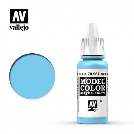 Vallejo 70961 Model Color 961 Sky Blue (067) 17ml